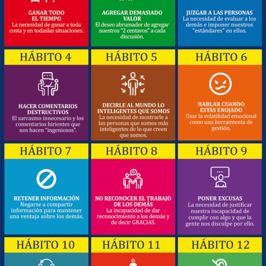 12 (Malos) Hábitos del Líder